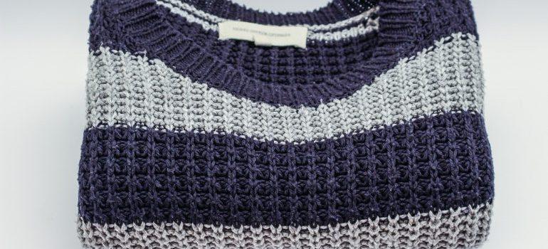a sweatshirt