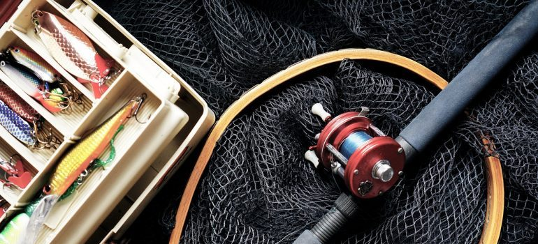 Picture of fishing equipment