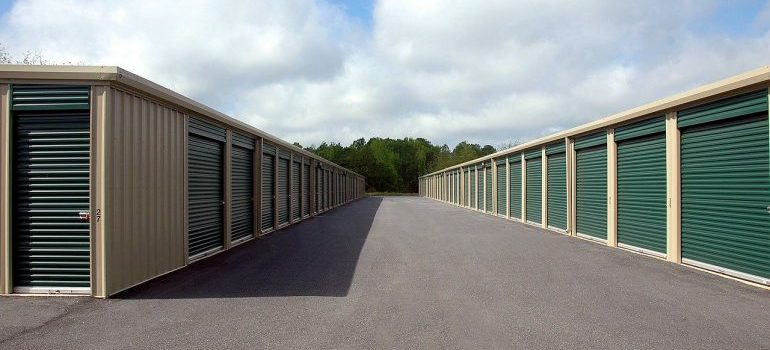 Green storage units for your move to Norristown.
