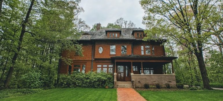 A beautiful, old home you will see if you decide on living in Main Line.