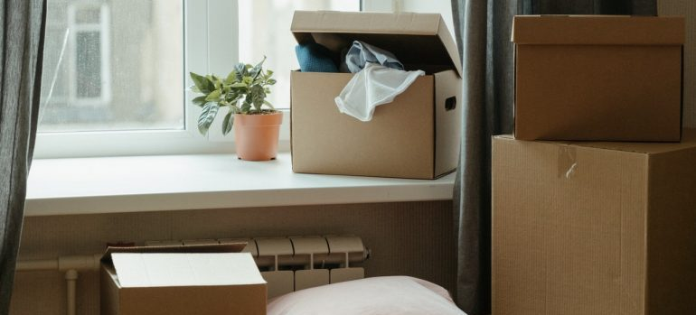 Moving boxes you will consider when you create an accurate budget for your relocation.