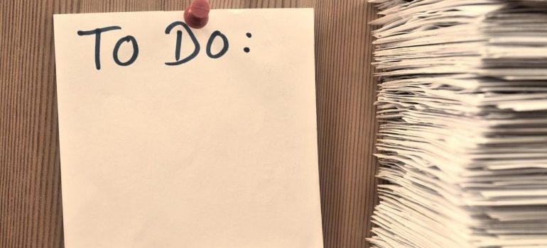 A to do list to help you with settling in West Chester.