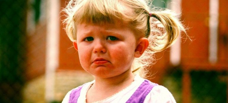 a sad girl