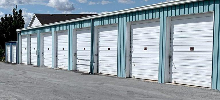 storage facility with storage units